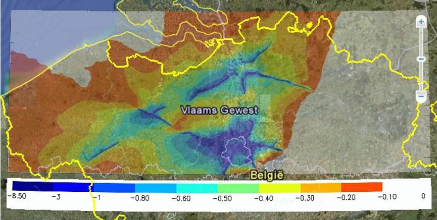 Invloed SMOG90-maatregel op PM2.5
